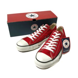 """[DEADSTOCK] 90's """"CONVERSE / ALL STAR LOW"""" made in USA"""