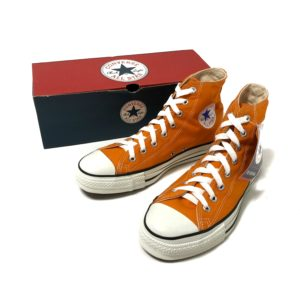 """[DEADSTOCK] 90's """"CONVERSE / ALL STAR HI"""" made in USA [US 8]"""