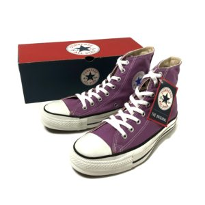 """[DEADSTOCK] 90's """"CONVERSE / ALL STAR HI"""" made in USA [US 7h]"""