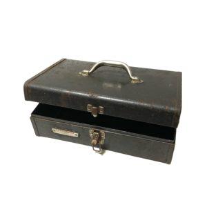 "VINTAGE ""CRAFTSMAN"" TOOL BOX made by SEARS ROEBUCK"
