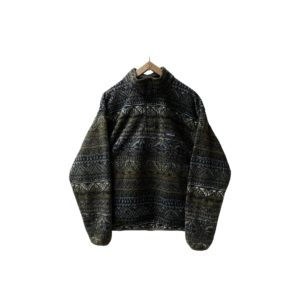 """90's """"PATAGONIA"""" SYNCHILLA FLEECE SNAP-T made in USA [M]"""