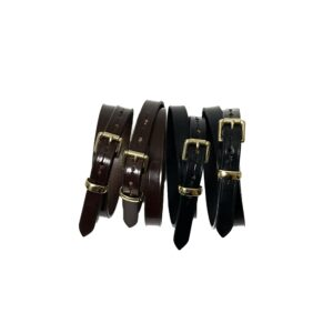 """[NEW] """"HERALDIC BELTS"""" 3/4inch BRIDLE LEATHER BELT made in ENGLAND"""