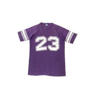 "70's ""CHAMPION"" FOOTBALL TEE made in USA (XLARGE)"