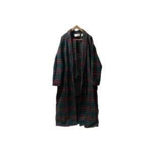 """〜80's """"L.L.BEAN"""" COTTON NELL CHECK GOWN made in USA (MEDIUM)"""