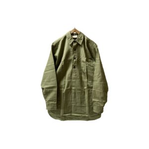 """[MINT] 〜80's """"YARMO"""" COTTON DRILL PULLOVER WORKSHIRTS made in ENGLAND"""