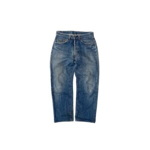 """80's """"LEVI'S / 501"""" DENIM PANTS made in USA (31×34)"""
