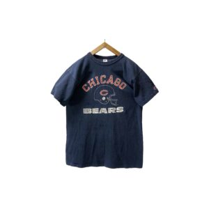 """80's """"CHAMPION"""" CHICAGO BEARS T-SHIRTS made in USA (LARGE)"""