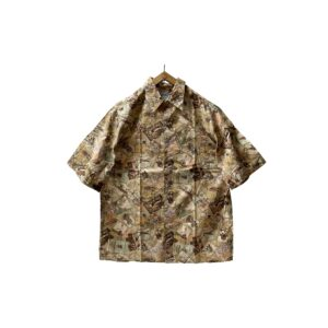 """[DEAD〜MINT] 80's """"REYN SPOONER"""" EGYPTIAN COTTON ALLOVER PATTERN WIDE SHIRTS made in HAWAII"""