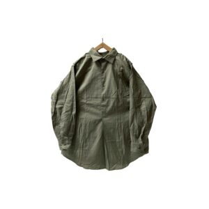 """[DEADSTOCK] 60's """"CZECH ARMY"""" PULLOVER GRANDPA SHIRTS (42)"""