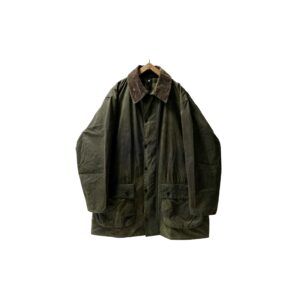 """90's """"BARBOUR / BORDER"""" OILED JKT made in ENGLAND (C44)"""