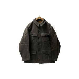 """[DEADSTOCK] 〜40's """"FRENCH VINTAGE"""" COTTON PIQUE HUNTING JKT made in FRANCE"""