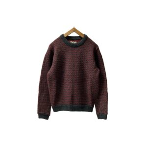 """[MINT] 80's """"L.L.BEAN"""" BIRDS EYE SWEATER made in NORWAY (SMALL)"""