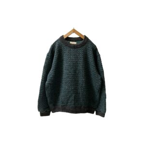 """[MINT] 80's """"L.L.BEAN"""" BIRDS EYE SWEATER made in NORWAY (LARGE)"""